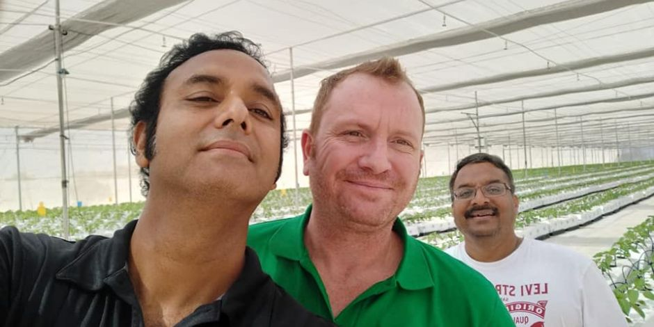Excellent day at Triangle Farms in Hyderabad