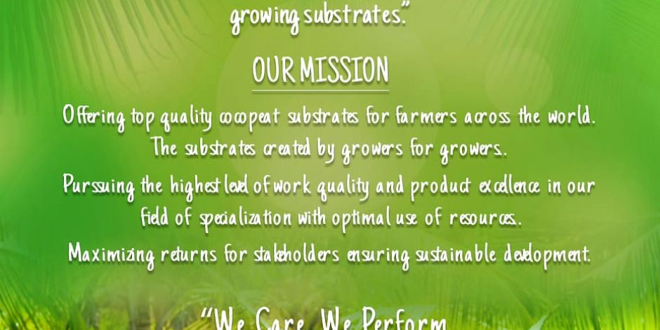 BIOGROW's mission & vision statement for 2020